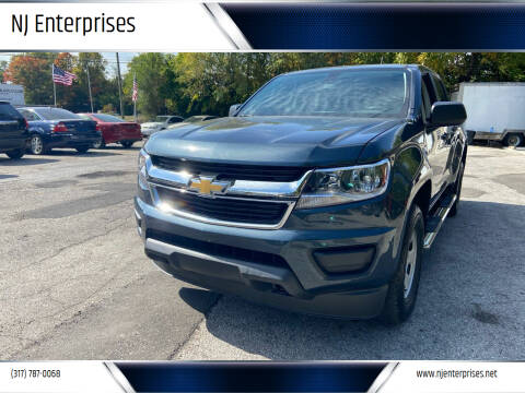 2019 Chevrolet Colorado for sale at NJ Enterprises in Indianapolis IN