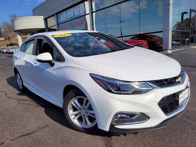 2017 Chevrolet Cruze for sale at Auto Smart of Pekin in Pekin IL