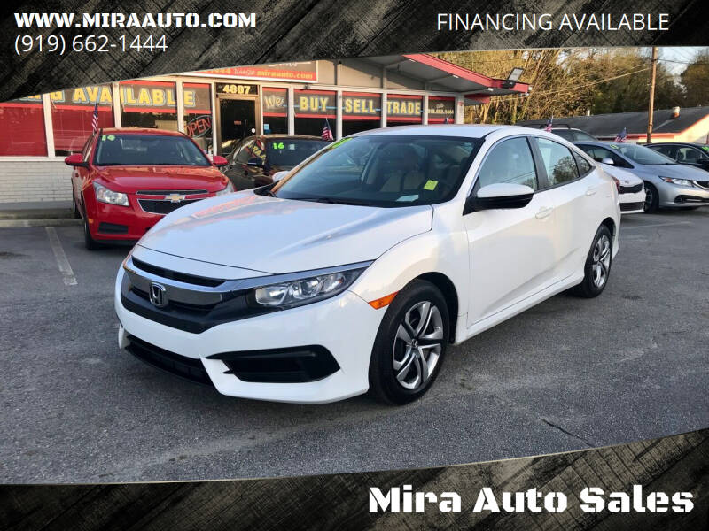 2018 Honda Civic for sale at Mira Auto Sales in Raleigh NC