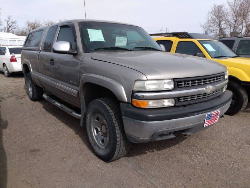 2000 Chevrolet Silverado 2500 for sale at L & J Motors in Mandan ND