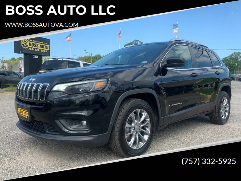 2019 Jeep Cherokee for sale at BOSS AUTO LLC in Norfolk VA