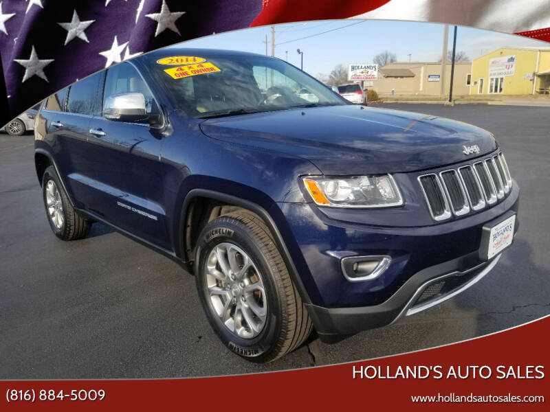 2014 Jeep Grand Cherokee for sale at Holland's Auto Sales in Harrisonville MO