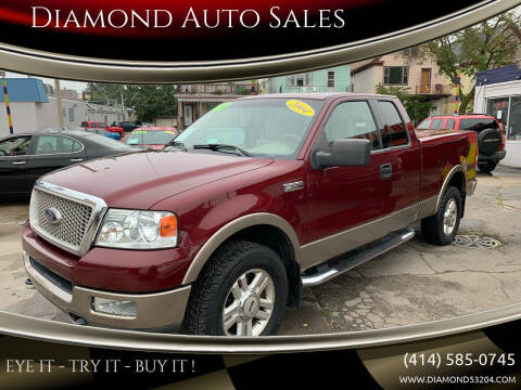 2004 Ford F-150 for sale at Diamond Auto Sales in Milwaukee WI
