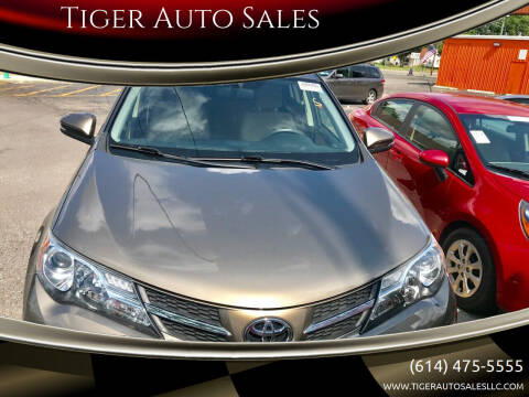 2015 Toyota RAV4 for sale at Tiger Auto Sales in Columbus OH
