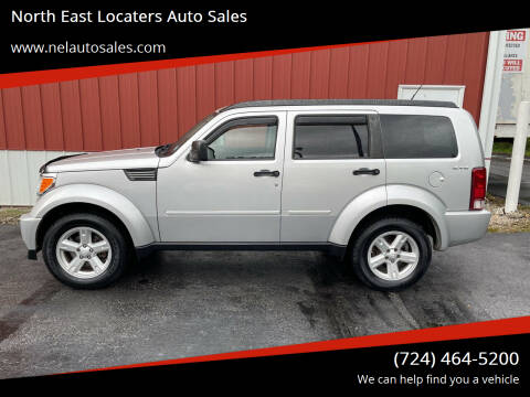 2010 Dodge Nitro for sale at North East Locaters Auto Sales in Indiana PA