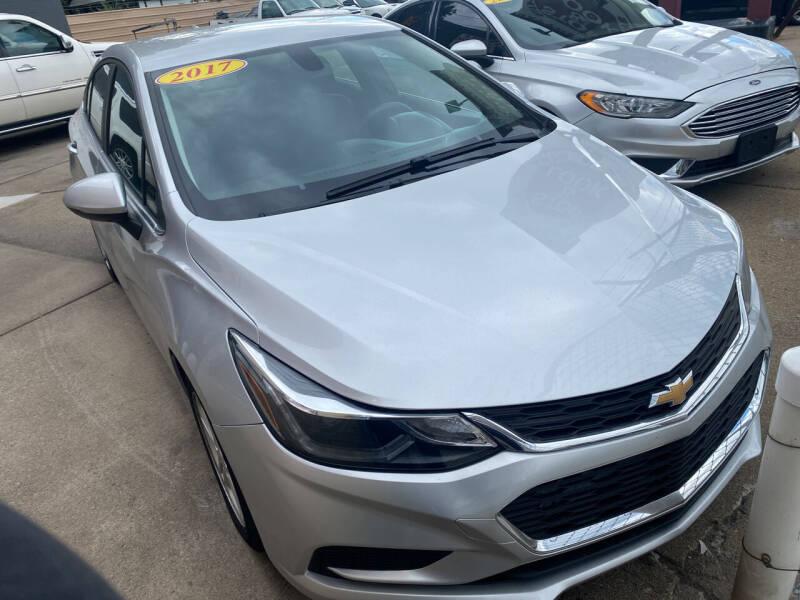 2017 Chevrolet Cruze for sale at Matthew's Stop & Look Auto Sales in Detroit MI