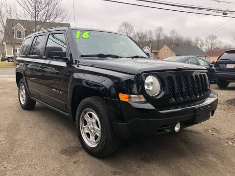 2016 Jeep Patriot for sale at Specialty Auto Inc in Hanson MA