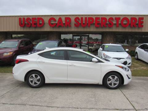 2014 Hyundai Elantra for sale at Checkered Flag Auto Sales NORTH in Lakeland FL