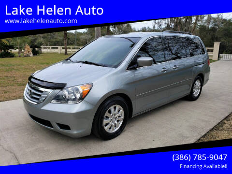 2010 Honda Odyssey for sale at Lake Helen Auto in Lake Helen FL