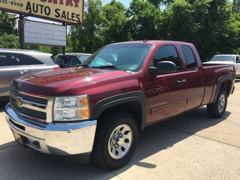 2013 Chevrolet Silverado 1500 for sale at Town and Country Auto Sales in Jefferson City MO