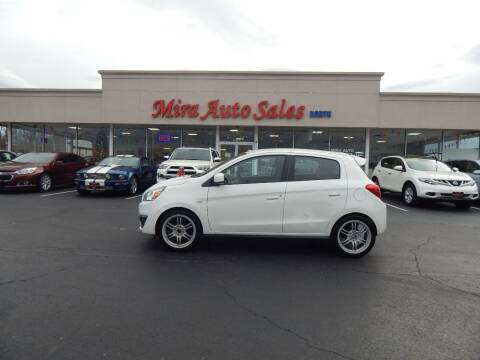 2019 Mitsubishi Mirage for sale at MIRA AUTO SALES in Cincinnati OH