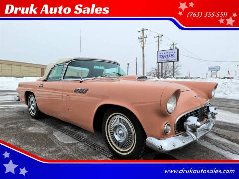 1956 Ford Thunderbird for sale at Druk Auto Sales in Ramsey MN
