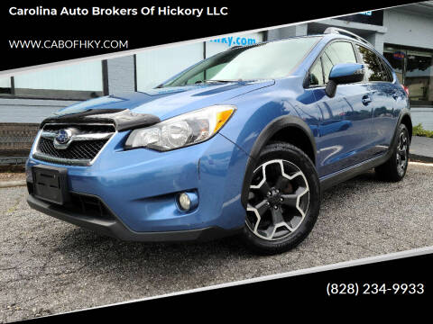 2015 Subaru XV Crosstrek for sale at Carolina Auto Brokers of Hickory LLC in Newton NC