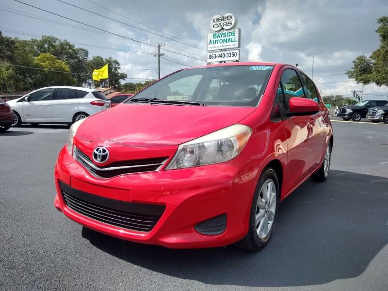 2013 Toyota Yaris for sale at BAYSIDE AUTOMALL in Lakeland FL