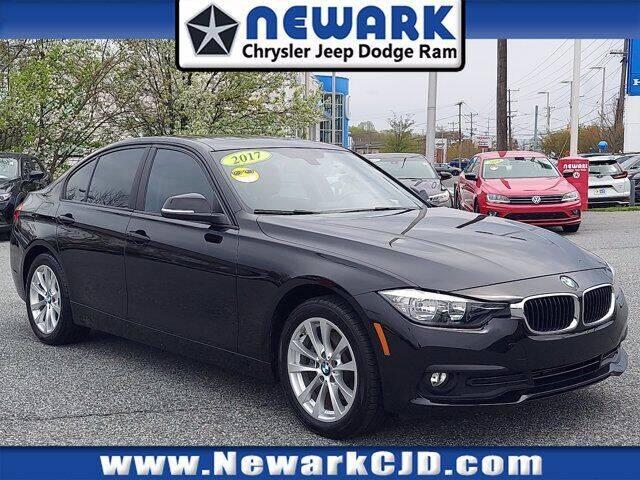 2017 BMW 3 Series for sale at NEWARK CHRYSLER JEEP DODGE in Newark DE