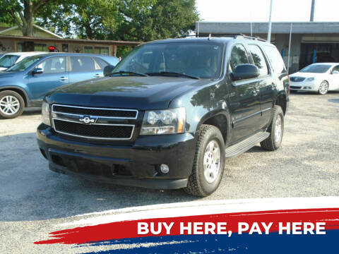 2008 Chevrolet Tahoe for sale at J & F AUTO SALES in Houston TX