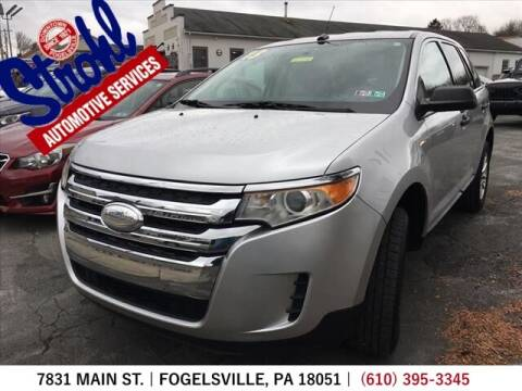 2013 Ford Edge for sale at Strohl Automotive Services in Fogelsville PA