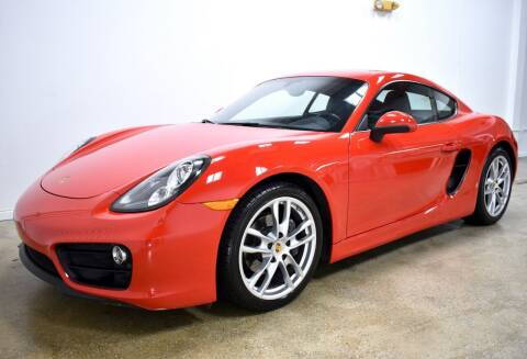 2016 Porsche Cayman for sale at Thoroughbred Motors in Wellington FL