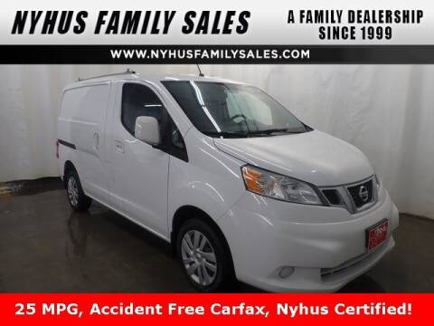 2013 Nissan NV200 for sale at Nyhus Family Sales in Perham MN