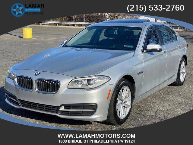 2014 BMW 5 Series for sale at LAMAH MOTORS INC in Philadelphia PA