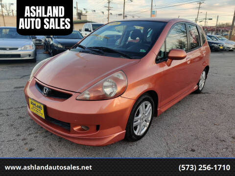 2008 Honda Fit for sale at ASHLAND AUTO SALES in Columbia MO