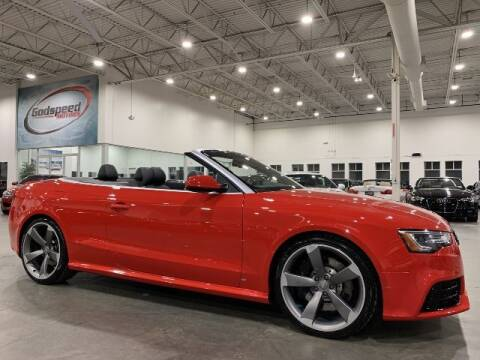 2014 Audi RS 5 for sale at Godspeed Motors in Charlotte NC