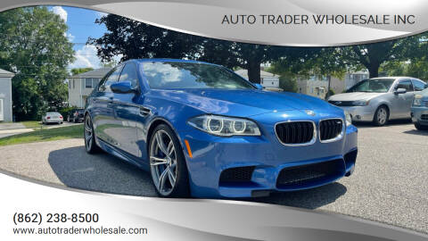 2014 BMW M5 for sale at Auto Trader Wholesale Inc in Saddle Brook NJ