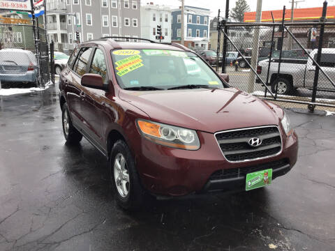 2007 Hyundai Santa Fe for sale at Adams Street Motor Company LLC in Dorchester MA