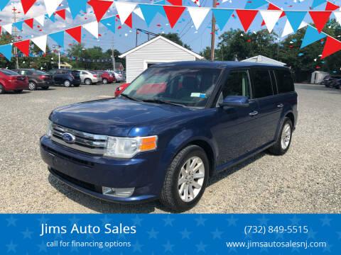 2012 Ford Flex for sale at Jims Auto Sales in Lakehurst NJ