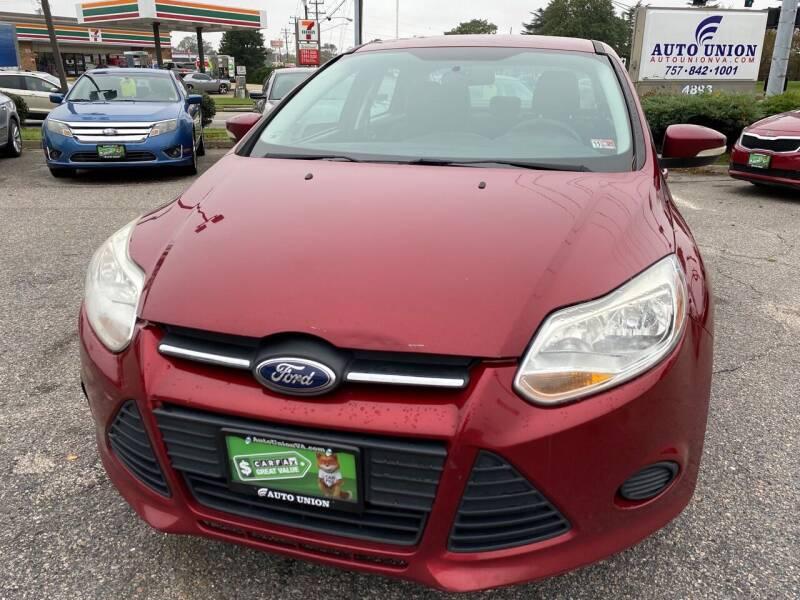 2014 Ford Focus for sale at Auto Union LLC in Virginia Beach VA