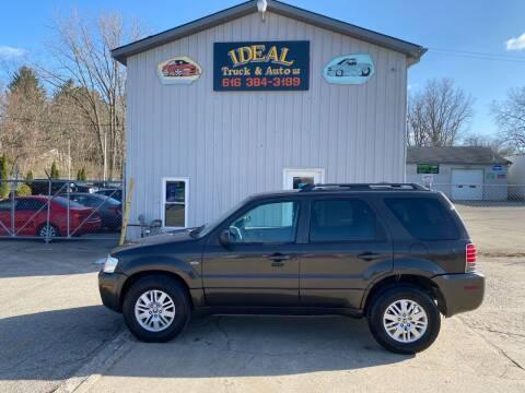 2005 Mercury Mariner for sale at IDEAL TRUCK & AUTO LLC in Coopersville MI