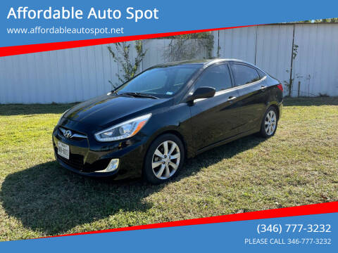 2014 Hyundai Accent for sale at Affordable Auto Spot in Houston TX