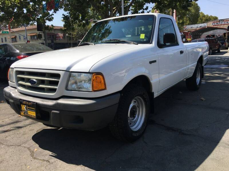 2003 Ford Ranger for sale at MK Auto Wholesale in San Jose CA
