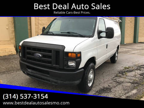 2010 Ford E-Series Cargo for sale at Best Deal Auto Sales in Saint Charles MO