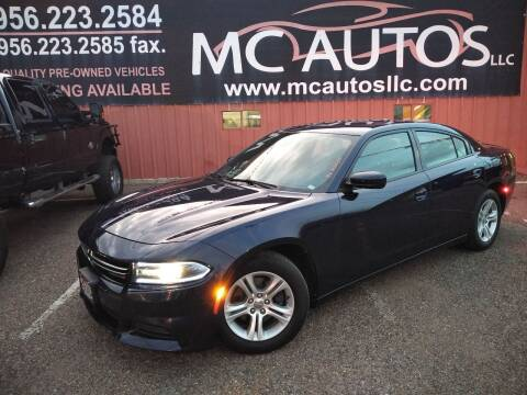 2016 Dodge Charger for sale at MC Autos LLC in Pharr TX