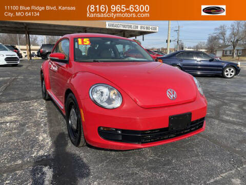 2015 Volkswagen Beetle for sale at Kansas City Motors in Kansas City MO