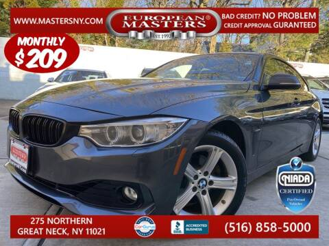 2015 BMW 4 Series for sale at European Masters in Great Neck NY