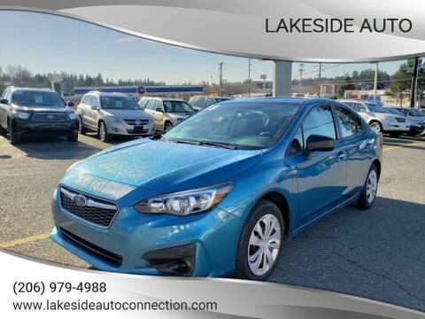 2018 Subaru Impreza for sale at Lakeside Auto in Lynnwood WA
