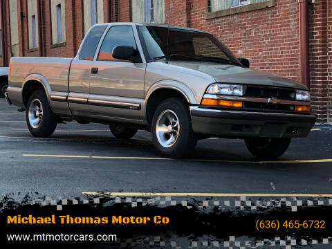 2001 Chevrolet S-10 for sale at Michael Thomas Motor Co in Saint Charles MO