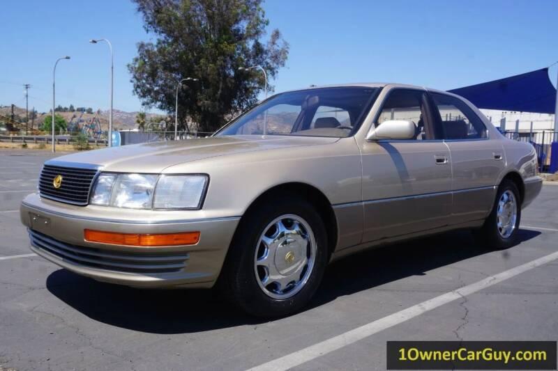 1993 Lexus LS 400 for sale at 1 Owner Car Guy in Stevensville MT