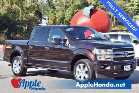 2018 Ford F-150 for sale at APPLE HONDA in Riverhead NY