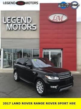 2017 Land Rover Range Rover Sport for sale at Legend Motors of Waterford - Legend Motors of Ferndale in Ferndale MI
