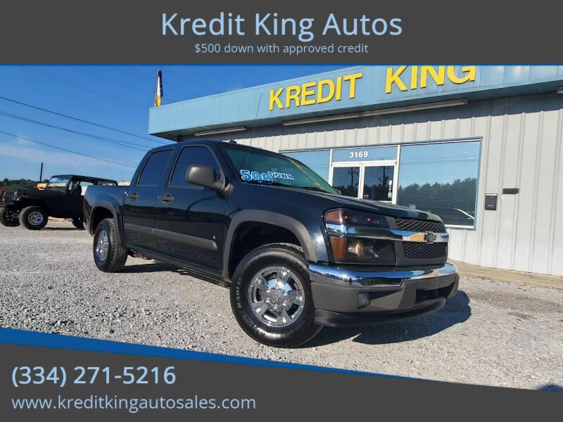 2008 Chevrolet Colorado for sale at Kredit King Autos in Montgomery AL