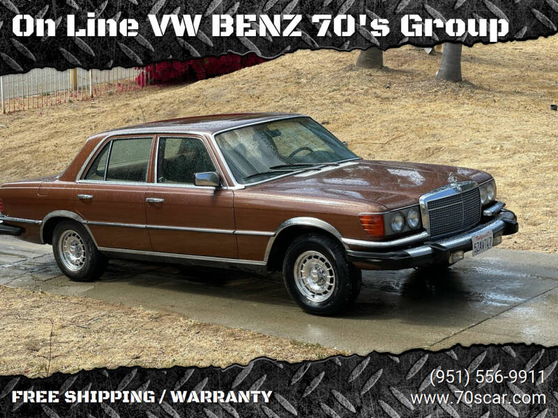 1979 Mercedes-Benz 300-Class for sale at OnLine VW-BENZ.COM Auto Group in Riverside CA