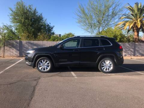 2016 Jeep Cherokee for sale at UR APPROVED AUTO SALES LLC in Tempe AZ