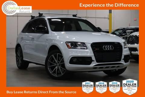 2017 Audi SQ5 for sale at Dallas Auto Finance in Dallas TX