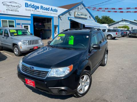 2010 Subaru Forester for sale at Bridge Road Auto in Salisbury MA