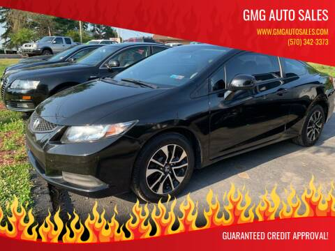 2013 Honda Civic for sale at GMG AUTO SALES in Scranton PA
