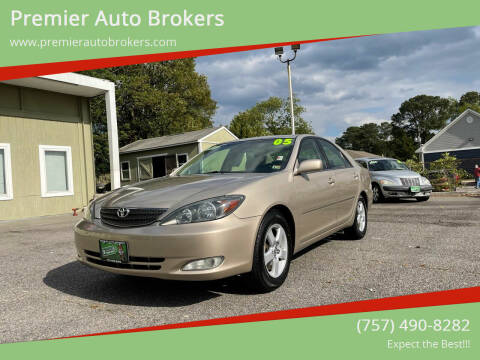 2004 Toyota Camry for sale at Premier Auto Brokers in Virginia Beach VA