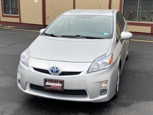 2010 Toyota Prius for sale at Anamaks Motors LLC in Hudson NH